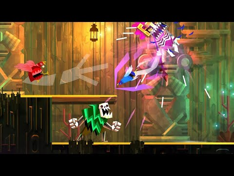 Download Youtube: 11 Minutes of Guacamelee! 2 Gameplay in 4K on PS4 PRO - PSX 2017