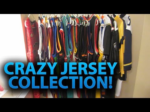 CRAZY JERSEY COLLECTION | Over 30+ NBA, NFL, MLB Jerseys! (1k Subscriber Special!)