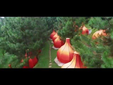 The Lodge Earthbound Maribaya , Bandung [Aerial video]