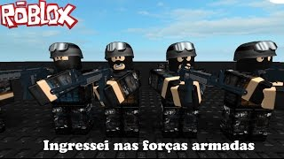 ROBLOX-I joined the Special Forces