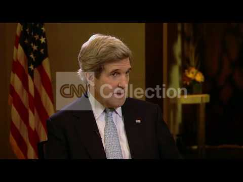 KERRY - MOMENT OF OPPORTUNITY IN IRAN