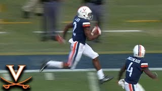 UVA WR J. Reed Takes Off On Tackle-Breaking TD Reception