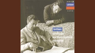 "Britten: Nocturne for tenor, 7 obligato instruments & strings, Op.60 - 1. ""On A Poet"