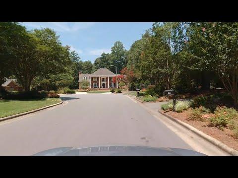 4K Drive - From Raleigh, North Carolina to Jordan Lake