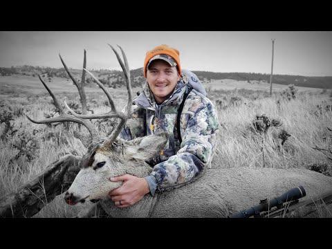 Trophy Mule Deer Hunting In Wyoming.