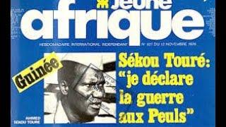 Debat sur le discours anti peul de Sékou Touré en Francais - 15 Aout 2018``
