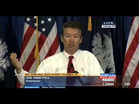 Senator Rand Paul at South Carolina Republican Barbeque - 6/28/2013
