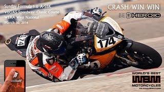 "4.5 BMW S1000RR CRASH/WIN/WIN: ""I pulled a Lorenzo"""