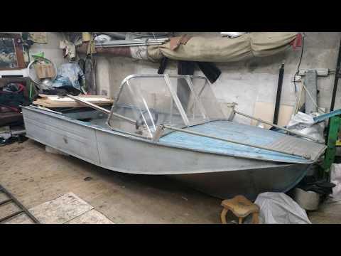 Подготовка лодки к лету с нуля. Лодка воронеж. В гараже!