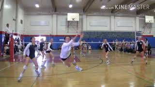 Volleyball best saves/digs