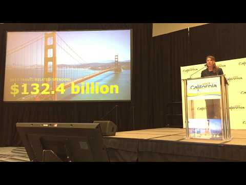 Caroline Beteta, President & CEO, Visit California - Press Conference IPW18 - Unravel Travel TV