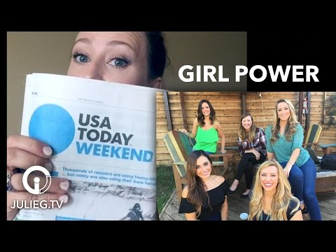 Olympic Shooters in USA Today, NOIR and Beyond Looks   JulieG.TV