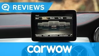Mercedes GLA 2017 COMAND infotainment and interior review | Mat Watson Reviews