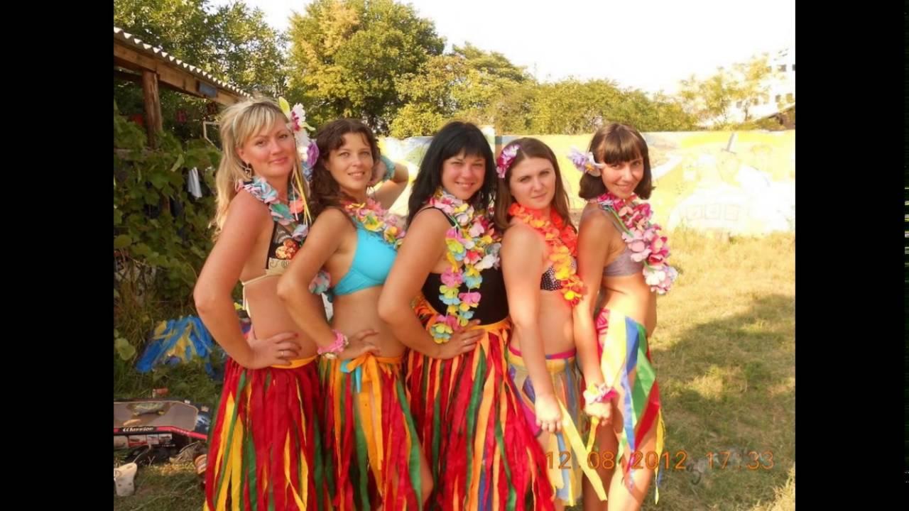 Гавайские костюмы своими руками 255
