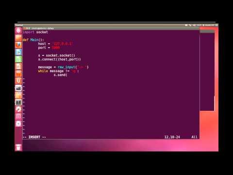 Python Advanced Tutorial 6 - Networking