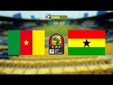 Cameroon vs GHANA CAN 2017 Live