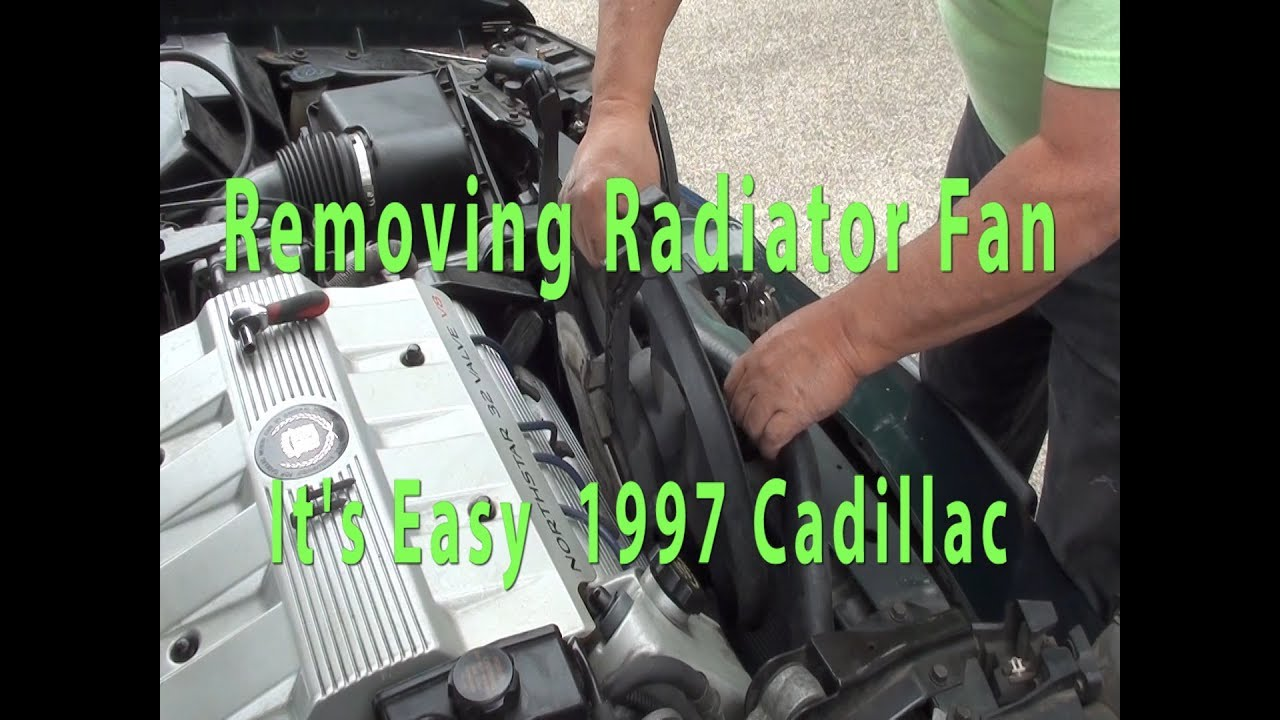 Cadillac - How to Replace Radiator Fan - What mechanics won't tell you - GM  - Northstar