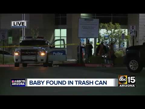 Baby dead after being found in trash can at Amazon distribution center in Phoenix