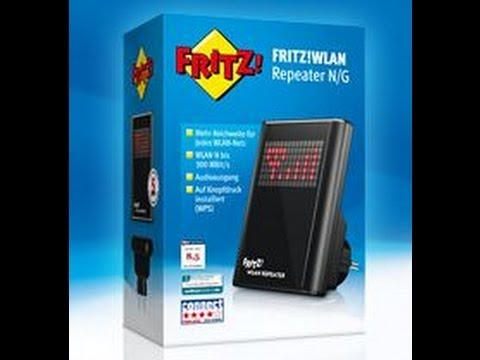 avm fritz wlan repeater zur cksetzen reset youtube. Black Bedroom Furniture Sets. Home Design Ideas