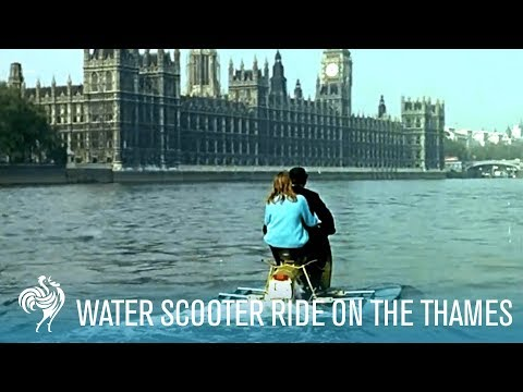 Image result for scooter on the thames
