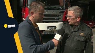 Polscy strażacy pomagają w Szwecji. Jak to wygląda w praktyce? | #OnetRANO #WIEM