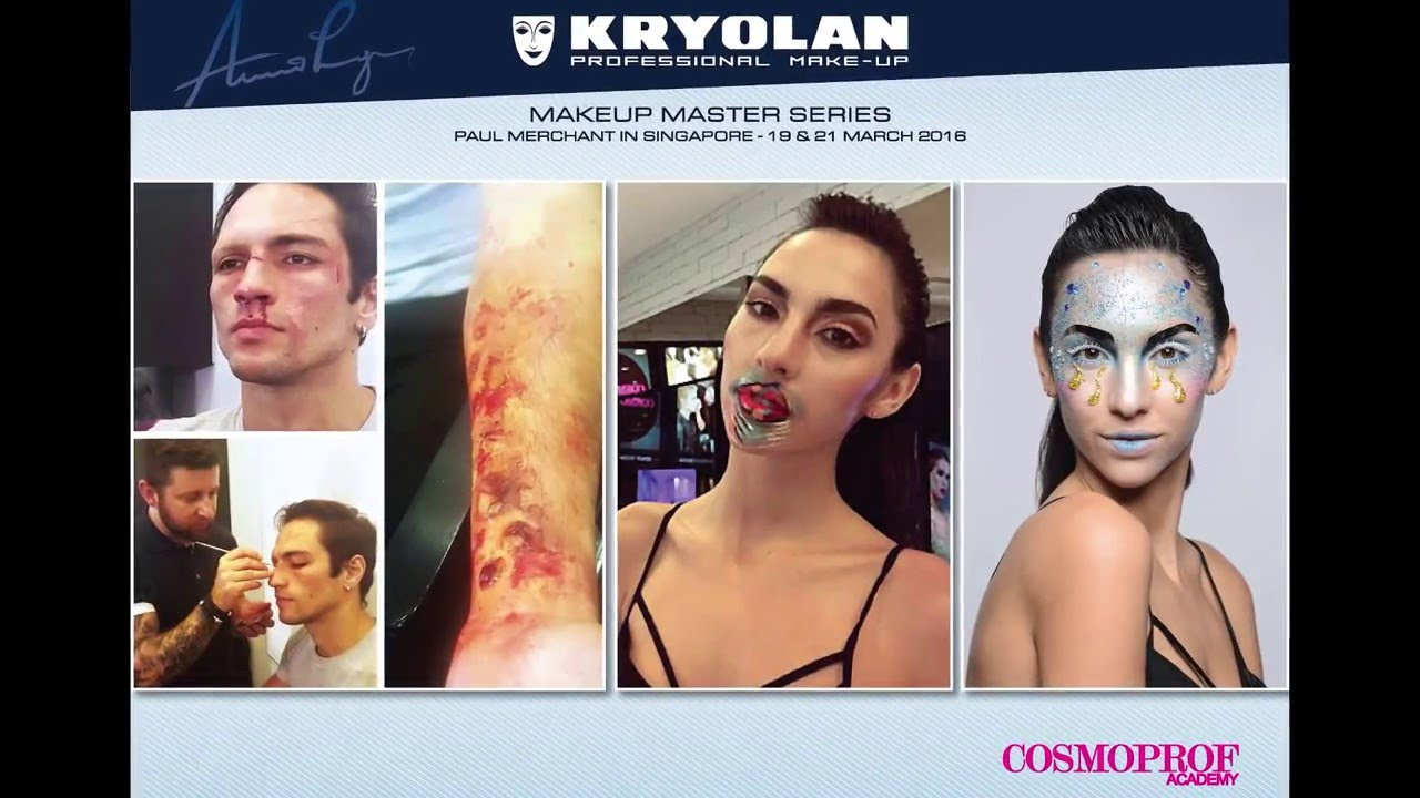 Special Effects Makeup at Cosmoprof Academy by Paul Merchant