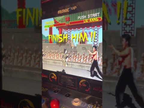 Arcade1up MK1 beat w/ no jumping from Michael Loehman