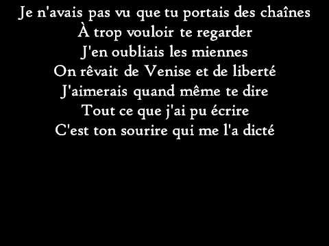 Francis Cabrel - L'Encre de tes yeux - Paroles