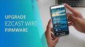 How to upgrade firmware of MiraScreen Wire/Wire+ by using