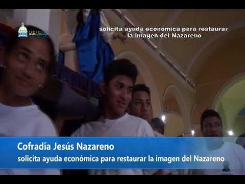 50 a�os de haber sido Esculpida la imagen del Nazareno.