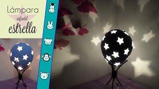 Lámpara de buro, estrellas / Decora tu habitación infantil // Varianidades :D