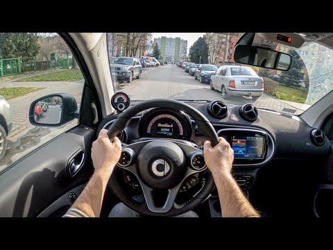 Smart EQ Fortwo 2020 | POV Test Drive #443 Joe Black