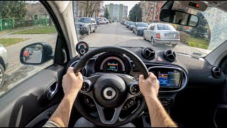 Smart EQ Fortwo 2020 | POV Test Drive #443 Joe Black