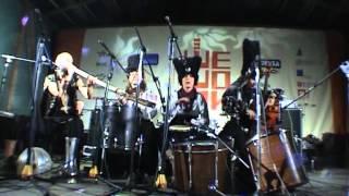 DakhaBrakha - Sho z pod duba (Sheshory festival 2006)