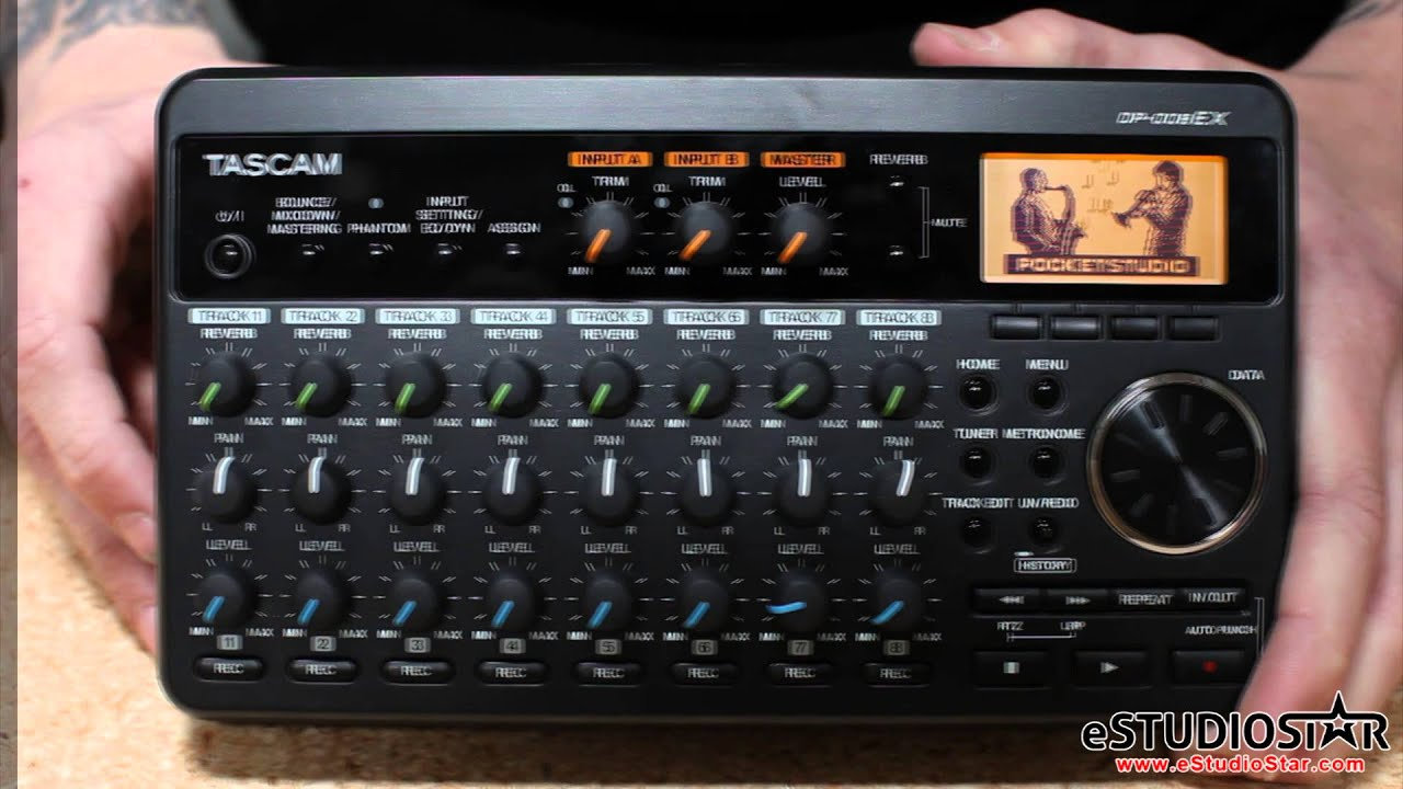 Tascam DP-006 / DP-008EX Pocketstudio Comparison Mobile
