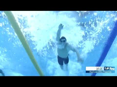 14th FINA World Swimming Championships (25m) Hangzhou (CHN)  Men's 4x100m Freestyle Final