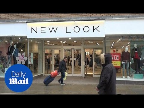New Look To Close 60 Stores In Latest Blow To The High Street - Daily Mail
