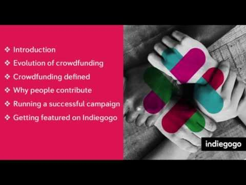 Introduction to Crowdfunding Webinar