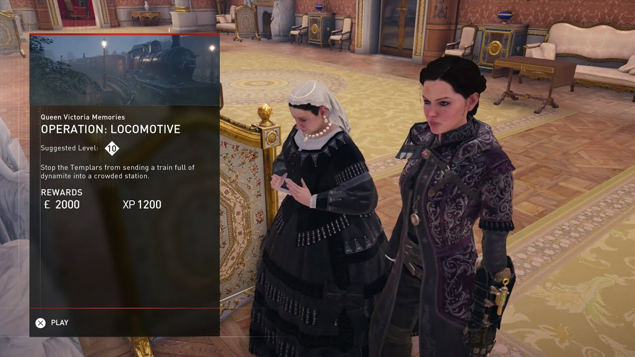 Locomotive Queen Victoria Memory 2 Assassin S Creed Syndicate Youtube