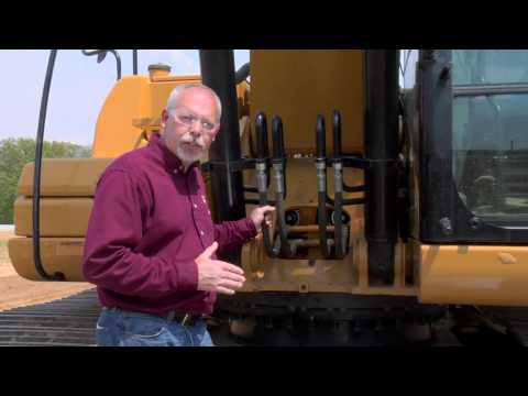 Cat® Excavator Swing Bearing & Swing Gear Maintenance