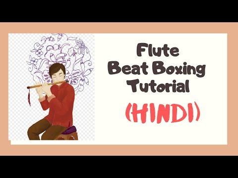 Flute beat boxing Tutorial in Hindi ft Harsh Flute Cover