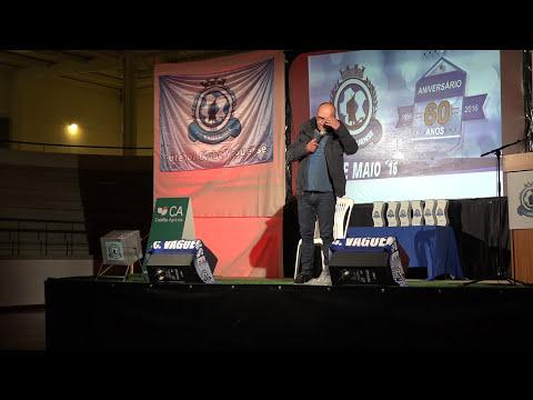 Fernando Rocha em Vagos na festa dos 60 anos do F.C. Vaguense