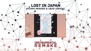 Shawn Mendes & Zedd - Lost In Japan (Remix) (Aldy Waani Instrumental Remake) Video