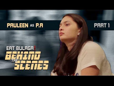 Eat Bulaga BTS: Pauleen Luna P.A. for a Day (Part 1)