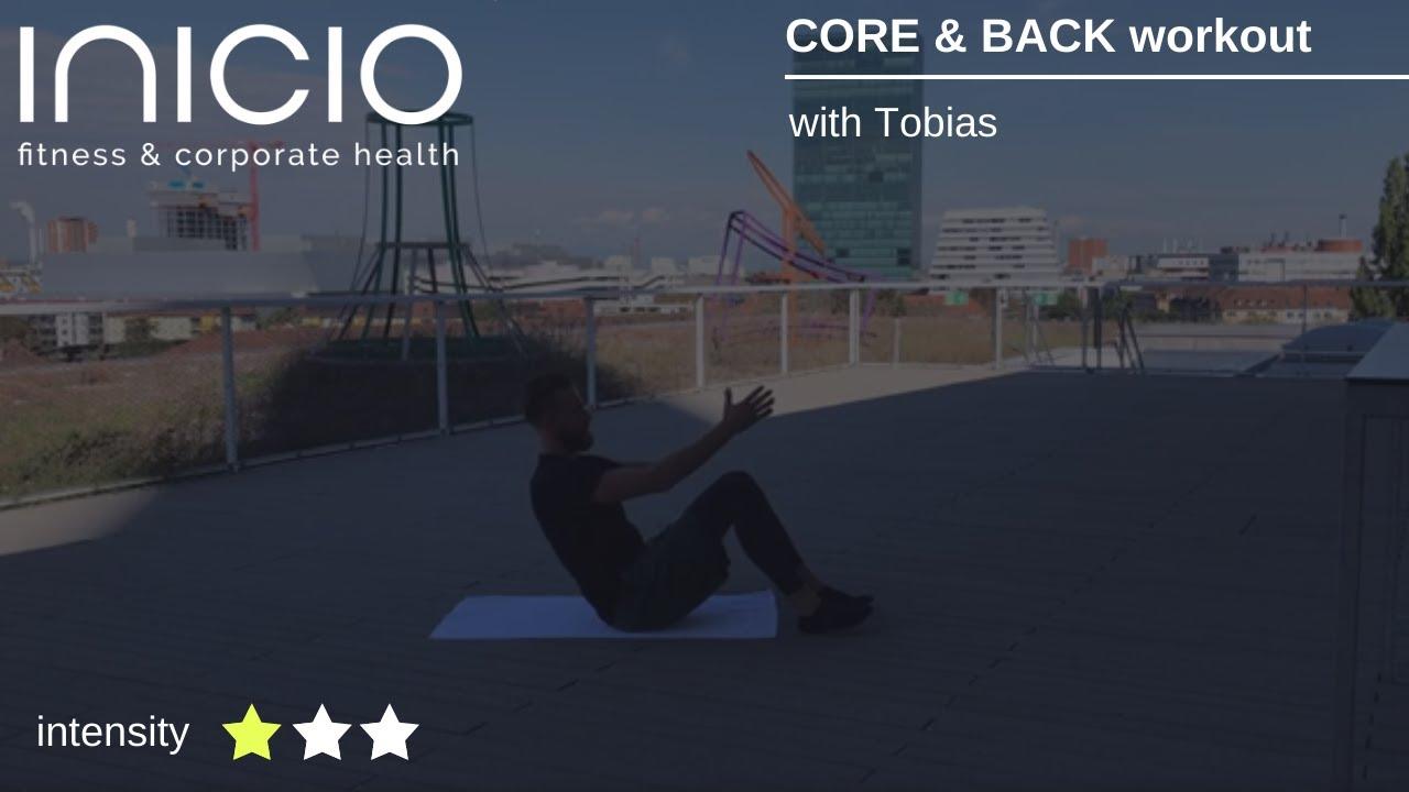 CORE & BACK workout