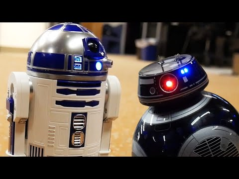 All These Bleeping Star Wars Droids Will Take Over Your Home  Up At Noon Live!