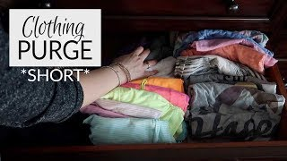 Clothing Purge (Short Version)   Spring Fever 2019