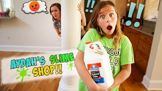 WE HID ALL OF OUR SLIME SUPPLIES!! SHE CAUGHT US!