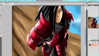 Naruto Manga 592 Madara Uchiha Speed Painting
