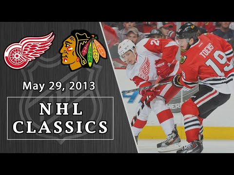 NHL Classics: Detroit Red Wings Vs. Chicago Blachawks | 5/29/13 | NBC Sports